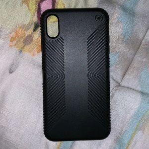 Grip speck case, black, IPhone XS Max